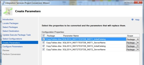 SSISDB and Catalog – Part 2 – Adding the SSIS Package